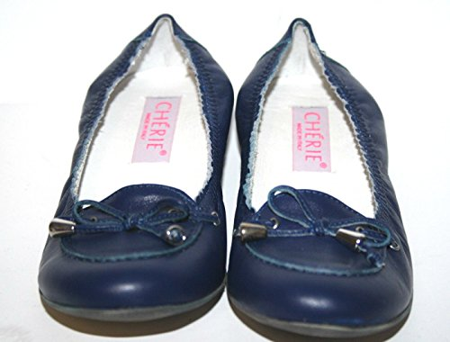 Cherie pour chaussures, ballerines fille 7771 bleu-taille 32 (sans emballage)