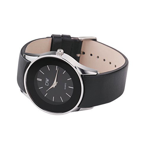 Outstanding Womens Watch Ladys Watch Dw Ladies Round Face Leather Strap Hairstyles For Men Maxibearus