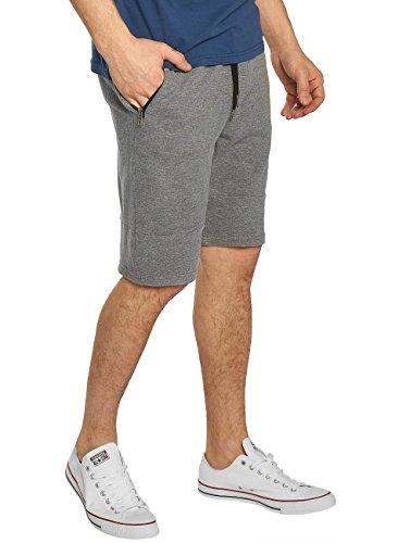 Petrol Industries Pantalones Cortos para Hombre Gris