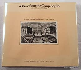 a view from the campidoglio selected essays icon  a view from the campidoglio selected essays 1953 1984 icon editions