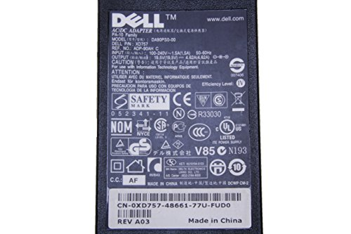 Dell 90W 19.5V 4.62A Laptop Charger AC Adapter for Latitude E6220 E6230 E6320 E6330 E6400 E6410 E6420 E6430 E6440 E6500 E6510 E6520 E6530 E6540 E7240 E7250 E7440 E7450; Vostro 3460 3560 1540 3750 XPS