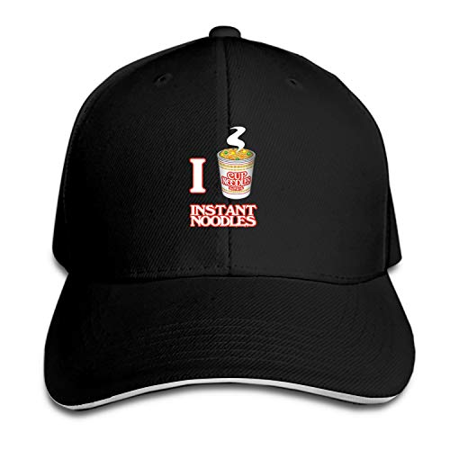 Unisex I Love Instant Noodles Dad Hat Baseball Cap Adjustable Trucker -