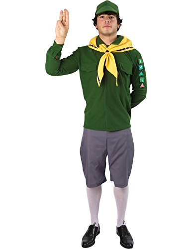 Orion Costumes Mens Boy Scout Adventure Cubs Beavers Costume Standard