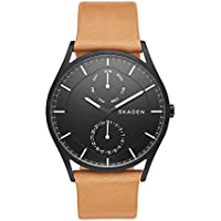 Skagen Men's SKW6265 Holst Light Brown Leather Watch