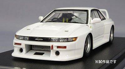 MIRAGE 完成品モデルカー 1/43 ニッサン GT シルビア 1993モデル プロストック ホワイト B003N7809A