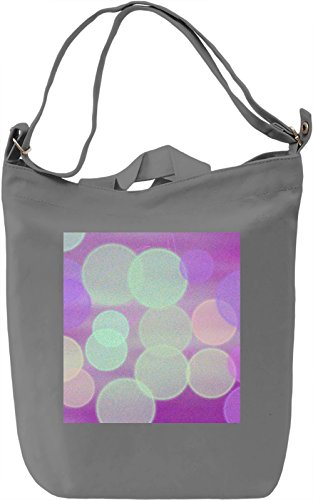 Light Texture Borsa Giornaliera Canvas Canvas Day Bag  100% Premium Cotton Canvas  DTG Printing 