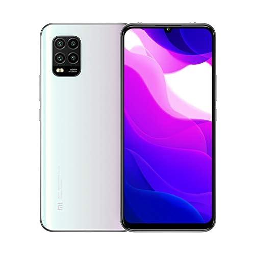 chollos oferta descuentos barato Xiaomi Mi 10 Lite 5G Teléfono 6GB RAM 128GB ROM 6 57 Pantalla de Color Verdadero Procesador Snapdragon 765G Octa Core 16MP Frontal y 48MP AI Quad Cámara Trasera Versión Global Blanco