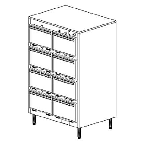 Duke 1308 Thermotainer Hot Food Storage Unit