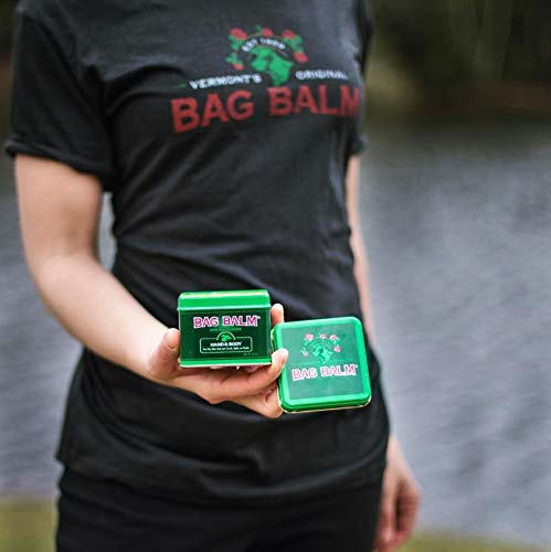 - Vermont's Original Bag Balm for Dry Chapped Skin Conditions 8 Ounce Tin