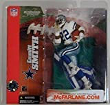 Emmitt Smith #22 Dallas Cowboys White Jersey Action Figure McFarlane NFL Series 6