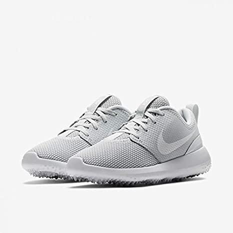 Amazon Com Nike Ladies Roshe G Spikeless Golf Shoes Wolf Gray Pink 10 Medium Everything Else