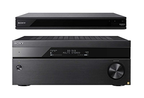 Channel 4K A/V Receiver with UBP-X800 4K Ultra HD Blu-ray Player ()