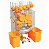 XPUSA Commercial Juicer Auto Feed Squeeze 20-22 Oranges Per Mins 4-7 Glasses Per Mins Safety Cut Off Switched