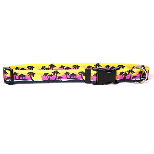 lm Tree IslDog Collar, Medium-3/4