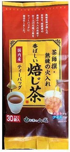 山城物産 茶師撰 香ばしい焙じ茶ティーバック 3g×30P×12袋入