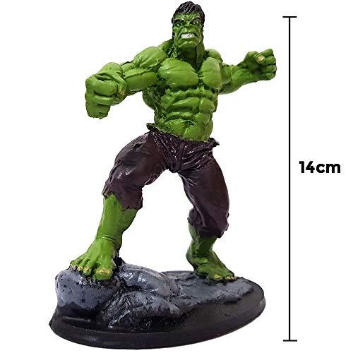 Boneco Hulk Estátua 14cm