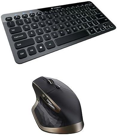 Logitech - Teclado inalámbrico Illuminated Keyboard K810 + Ratón inalámbrico MX Master: Amazon.es: Informática