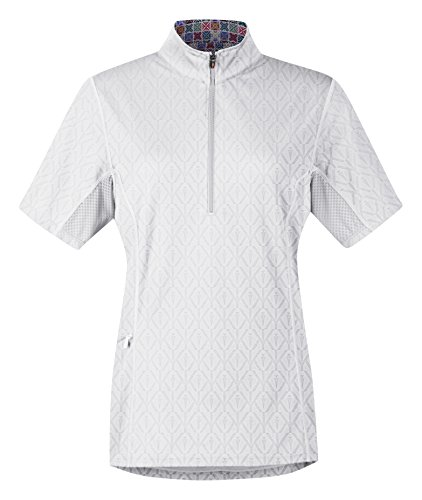 Kerrits Hybrid II Riding Shirt White Size: Medium