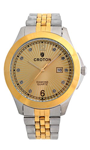 Croton Diamond Ladies Watch (Croton Men's 10 Diamond Dial Watch - CN307562TTCD)