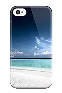 New Style Tpu 4/4s Protective Case Cover/ Iphone Case - Dead Tree Beach