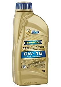 Amazon.com: RAVENOL J1A1506 SAE 0W-16 Motor Oil - EFE Extra Fuel Economy Full Synthetic API SN ...