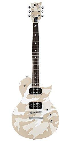 - ESP Artist Series LWA200WHC Solid-Body Electric Guitar, White Camo