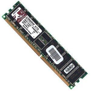 Kingston KVR400D8R3A/1G 1GB DDR RAM PC-3200 ECC Registered 184-Pin DIMM