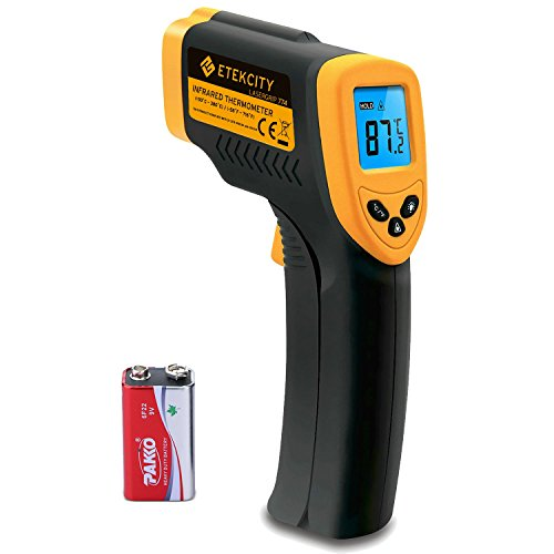 Etekcity Lasergrip 774 Non-contact Digital Laser IR Infrared Thermometer,...