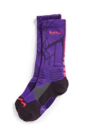 Nike Lebron Hyper Elite Basketball Crew Socks Womens U9Omjd