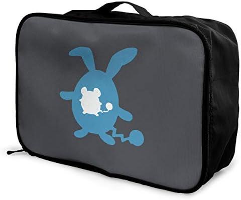 アレンジケース マリルリ 旅行用トロリーバッグ 旅行用サブバッグ 軽量 ポータブル荷物バッグ 衣類収納ケース キャリーオンバッグ 旅行圧縮バッグ キャリーケース 固定 出張パッキング 大容量 トラベルバッグ ボストンバッグ