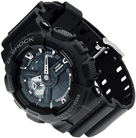 6169c819440 Casio G-Shock Analog-Digital Black Dial Men s Watch - GA-110-1BDR (G317)