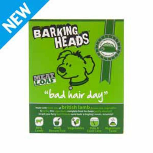 Barking Heads Bad Hair Day Dog Food 400g (Case Of 16)
