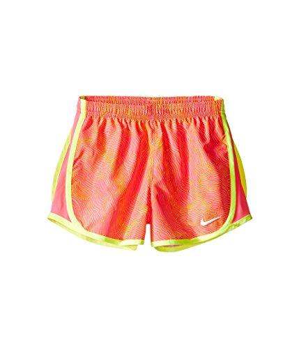 Pantalones Cortos Nike Girls Dry Tempo Hyper Pink (3mb166-a96) / Amarillo / Blanco