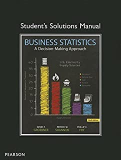 Amazon business statistics 9th edition 9780133021844 student solutions manual for business statistics fandeluxe Image collections