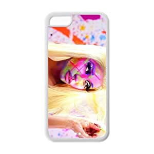 Hardshell Strong Protective Hot Hip-hop Rapper Nicki Minaj Sexy Picture Protective Cover Case for Iphone 5C TPU Case-2