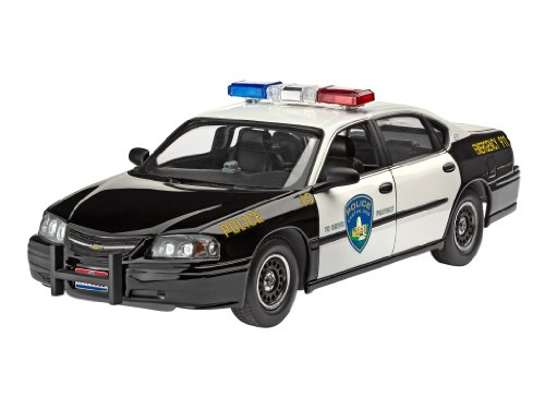 Revell Scale '05 Chevy Impala Police Car