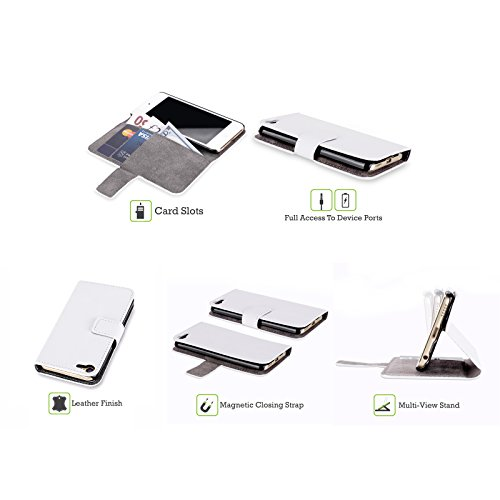 Ufficiale Brigid Ashwood Casa SullAcqua 4 Pre-Raffaelita Cover a portafoglio in pelle per iPod Touch 5th Gen / 6th Gen