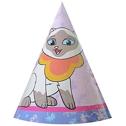 Sagwa the Chinese Siamese Cat Cone Hats (8ct)