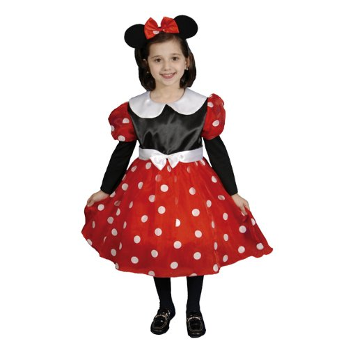 Little Girls Size 4//6 Black Mouse Formal Halloween Costume Outfit Set