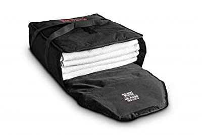 "Blanket Warmer Bag - Medium, Portable, 20""W X 20""L x 8-1/2""H, Holds 4-5 Blankets, Optional AC Power Supply or Car Adapter"