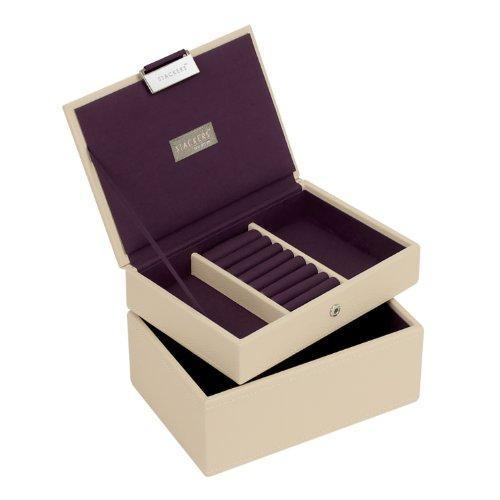 Stackers Cream & Purple Mini Set of 2 Jewelry - Stackers Set