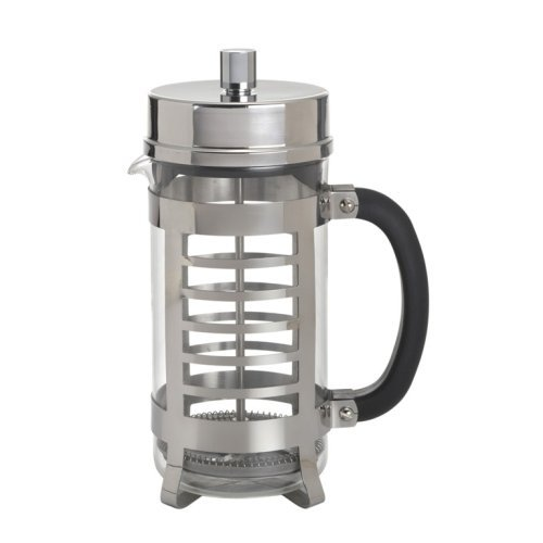Linear French Press - BonJour Coffee Glass and Stainless Steel French Press, 33.8-Ounce, Linear