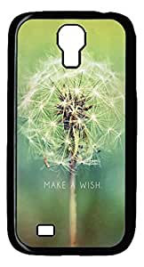 DAOJIE CASE Customized Have A Wish Dandelion PC Hardshell Protective Case Cover for Samsung Galaxy S4 i9500 wangjiang maoyi by lolosakes