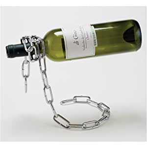 how to make a chain wine bottle holder