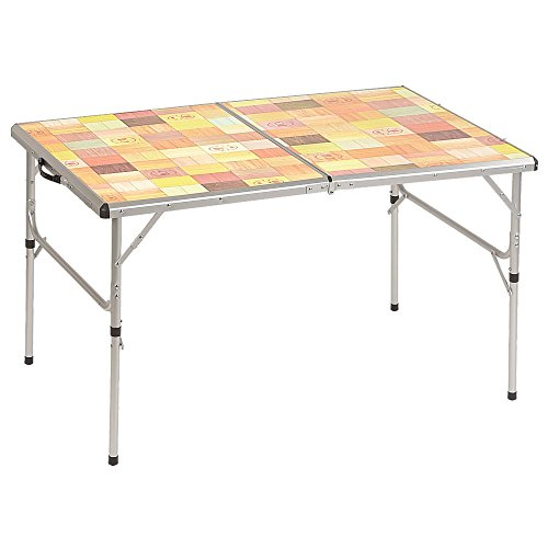 Coleman Outdoor Folding Table with Mosaic Top by Coleman