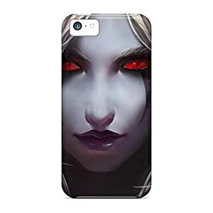 New Dark Elf The Stare Tpu Case Cover, Anti-scratch AngelKiss Phone Case For Iphone 5c