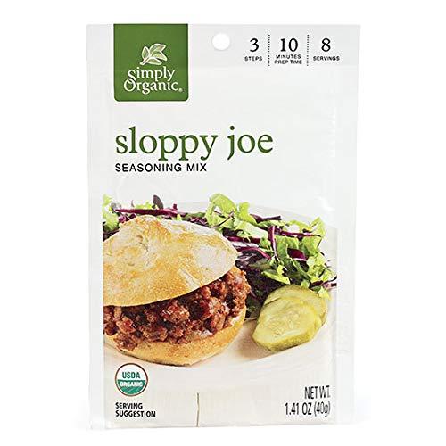 Simply Organic Sloppy Joe Seasoning Mix