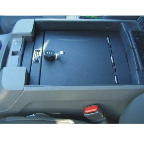 Console Vault Ford Expedition 2000-2006 - 1015 - Massive 12 Gauge Cold Rolled Plate Steel, Welded Tab And Notch Seams - Superior 3 Point Locking System Resists Prying - Drill Resistant Locks - Easy 10 Minute Installation