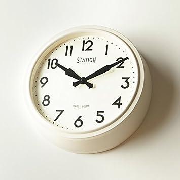FortuneVin - Reloj de Pared de Cuarzo con Número de Anclaje para Salón, Decorativo,