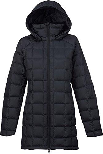 Burton AK Baker Long Down Insulator Jacket Womens Sz M Black Heather